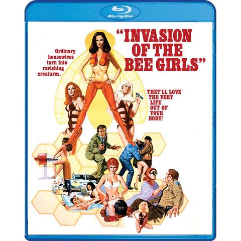Invasion of the Bee Girls [Blu-Ray]
