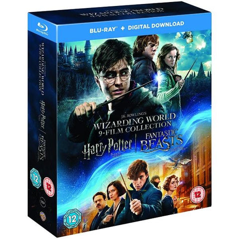 J. K. Rowling's Wizarding World 9-Film Collection [Blu-Ray Box Set]