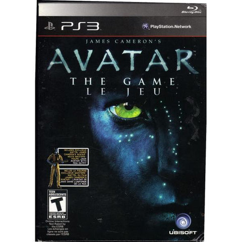 James Cameron's Avatar: The Game w/ Jake Avatar Figure [PlayStation 3]