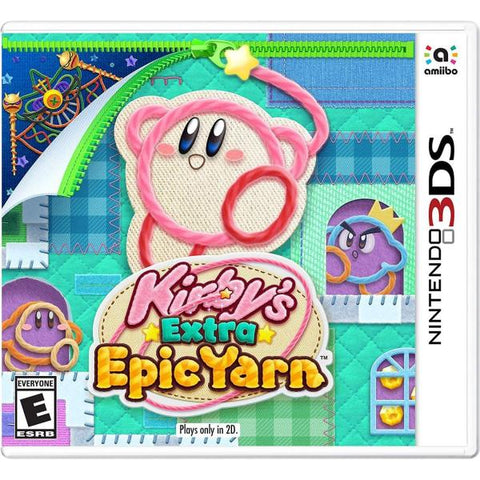 Kirby's Extra Epic Yarn [Nintendo 3DS]