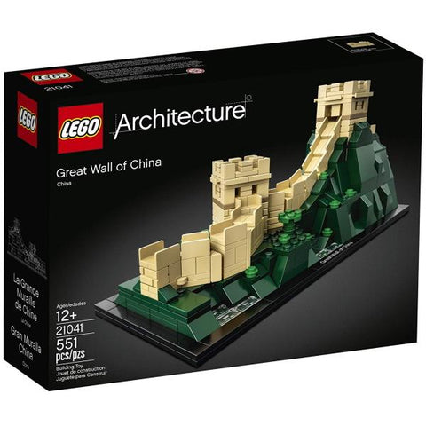 LEGO Architecture: Great Wall of China - 551 Piece Building Kit [LEGO, #21041, Ages 12+]