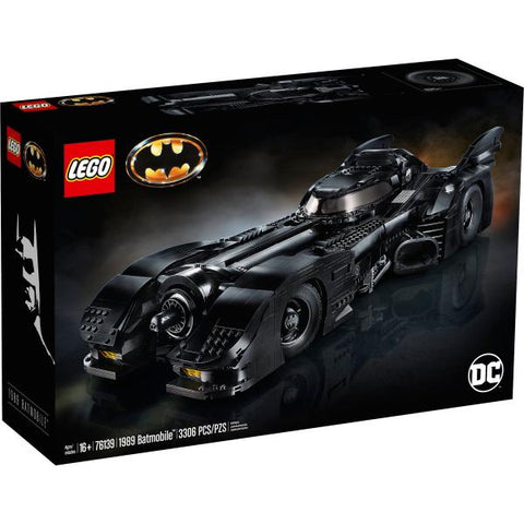 LEGO DC Comics Super Heroes: 1989 Batmobile - 3306 Piece Building Kit [LEGO, #76139, Ages 16+]