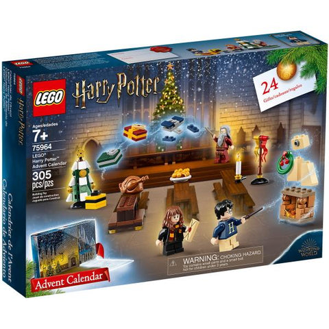 LEGO Harry Potter: Advent Calendar (2019 Edition) - 305 Piece Building Kit [LEGO, #75964, Ages 7+]