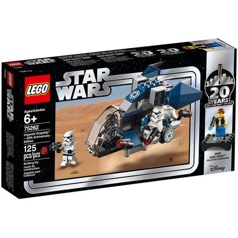 LEGO Star Wars: Imperial Dropship - 20th Anniversary Edition - 125 Piece Building Kit [LEGO, #75262, Ages 6+]