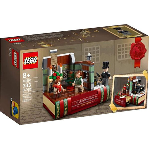 LEGO Charles Dickens Tribute - 333 Piece Building Kit [LEGO, #40410, Ages 8+]