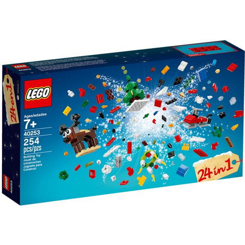 LEGO Christmas Build Up 2017 - 254 Piece Building Kit [LEGO, #40253, Ages 7+]