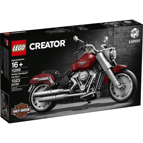LEGO Creator Expert: Harley-Davidson Fat Boy - 1023 Piece Building Kit [LEGO, #10269, Ages 16+]