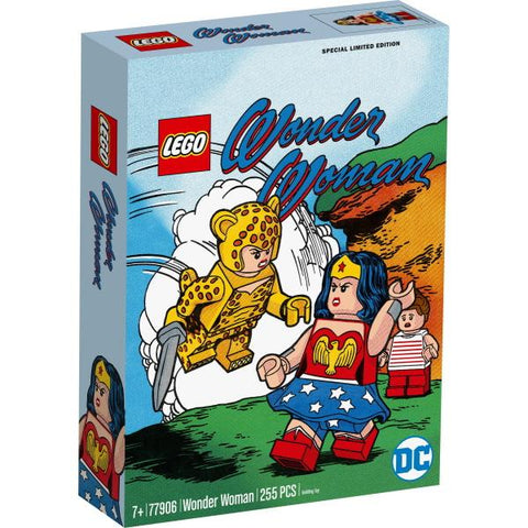 LEGO DC: Wonder Woman Special Limited Edition - 255 Piece Building Kit [LEGO, #77906, Ages 7+]