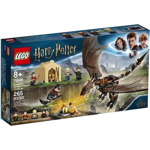 LEGO Harry Potter: Hungarian Horntail Triwizard Challenge - 265 Piece Building Kit [LEGO, #75946, Ages 8+]