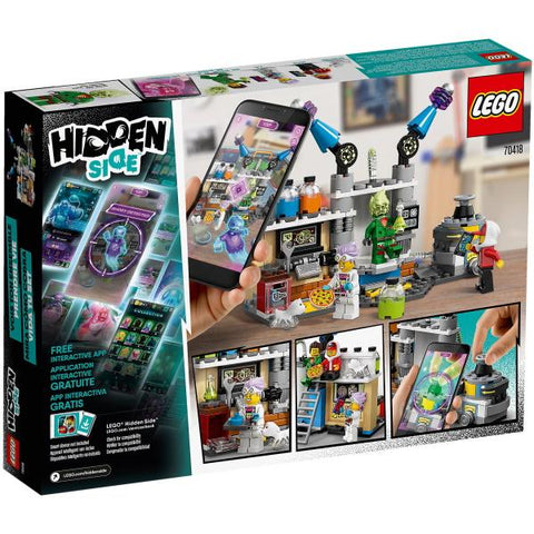 LEGO Hidden Side: J.B.'s Ghost Lab - 174 Piece Building Kit [LEGO, #70418, Ages 7+]