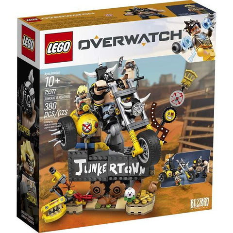 LEGO Overwatch: Junkrat & Roadhog - 380 Piece Building Kit [LEGO, #75977, Ages 10+]