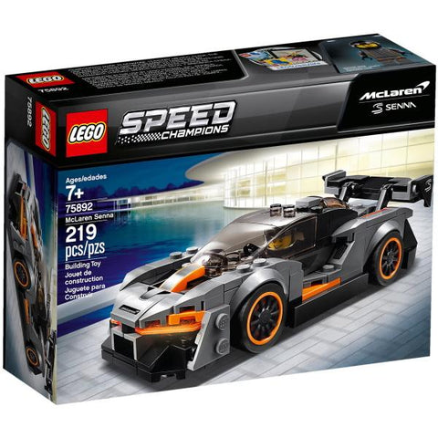 LEGO Speed Champions: McLaren Senna - 219 Piece Building Kit [LEGO, #75892, Ages 7+]