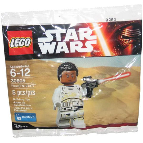 LEGO Star Wars: Finn Minifigure - 5 Piece Building Kit [LEGO, #30605, Ages 6-12]