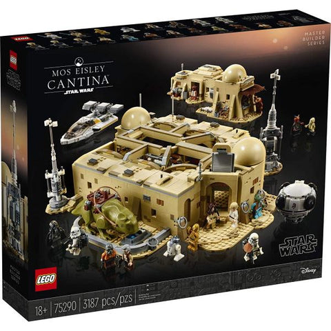 LEGO Star Wars: Mos Eisley Cantina - 3187 Piece Building Set [LEGO, #75290, Ages 18+]