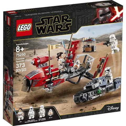 LEGO Star Wars: Pasaana Speeder Chase - 373 Piece Building Set [LEGO, #75250, Ages 8+]