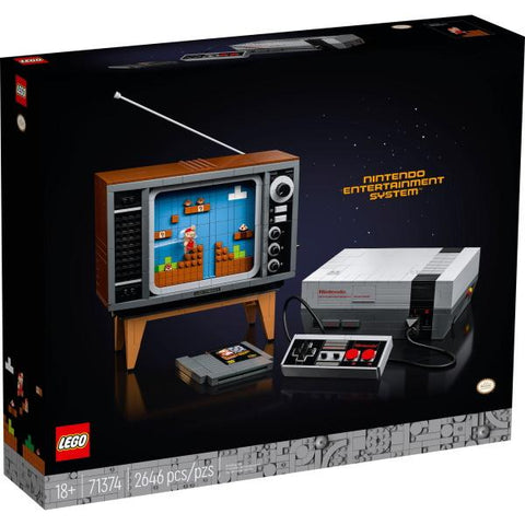 LEGO Super Mario: Nintendo Entertainment System - 2646 Piece Building Kit [LEGO, #71374, Ages 18+]