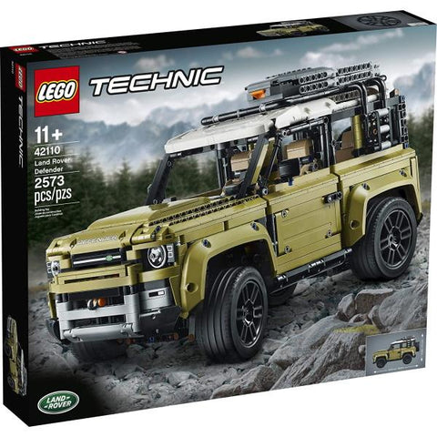 LEGO Technic: Land Rover Defender - 2573 Piece Building Kit [LEGO, #42110, Ages 11+]