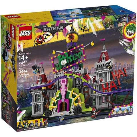 LEGO The LEGO Batman Movie: The Joker Manor - 3444 Piece Building Kit [LEGO, #70922, Ages 14+]