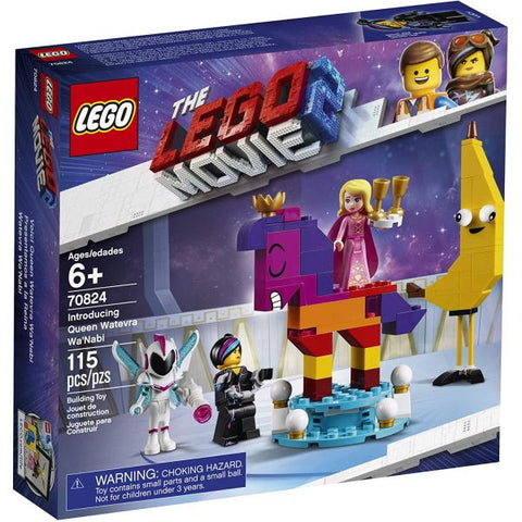 LEGO The LEGO Movie 2: Introducing Queen Watevra Wa'Nabi  - 115 Piece Building Kit [LEGO, #70824, Ages 6+]