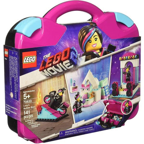 LEGO The LEGO Movie 2: Lucy's Builder Box! - 141 Piece Building Kit [LEGO, #70833, Ages 5+]