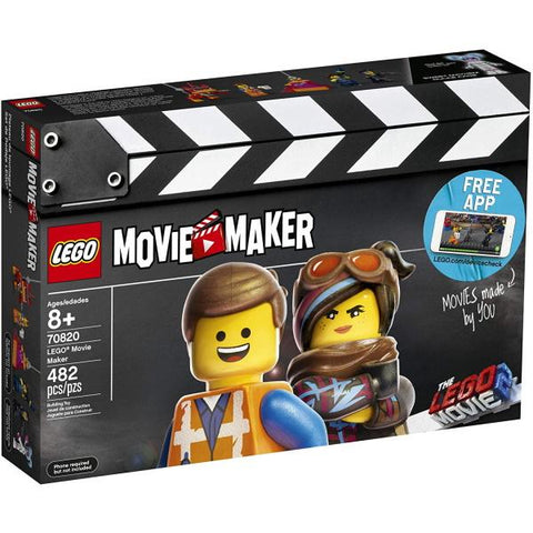LEGO The LEGO Movie 2: Movie Maker - 482 Piece Building Kit [LEGO, #70820, Ages 8+]