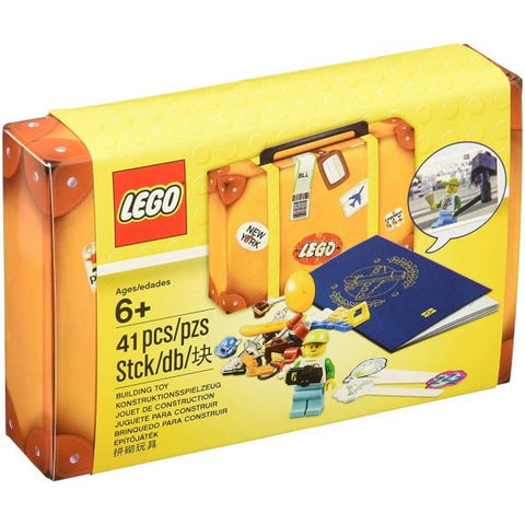 LEGO Travel Building Suitcase - 45 Piece Building Kit [LEGO, #5004932, Ages 6+]