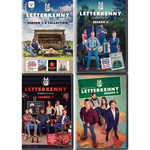 Letterkenny: Season 1-8 Complete Set [DVD Box Set]