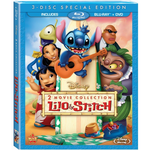 Disney's Lilo & Stitch / Lilo & Stitch 2: Stitch Has a Glitch [Blu-Ray + DVD 2-Movie Collection]