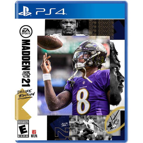 Madden NFL 21 - Deluxe Edition [PlayStation 4]
