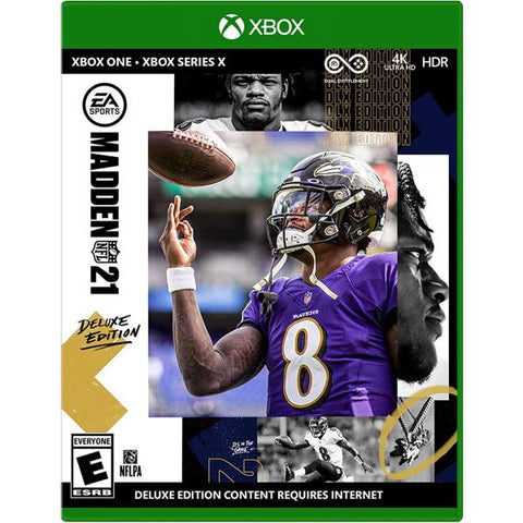 Madden NFL 21 - Deluxe Edition [Xbox Series X / Xbox One]