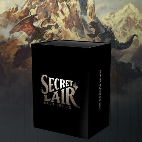 Magic: The Gathering TCG - Secret Lair Drop Series - The Godzilla Lands [Card Game, 2 Players]