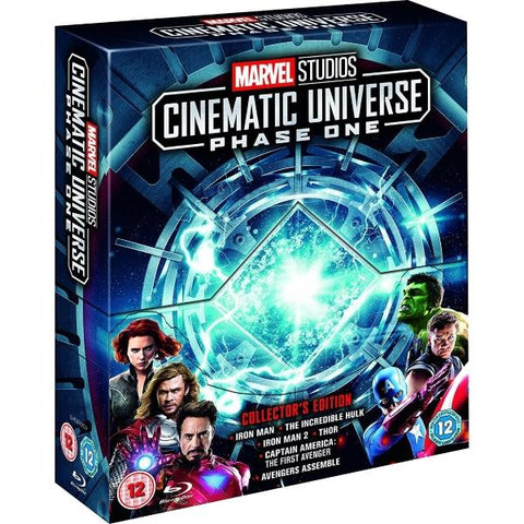 Marvel Studios Cinematic Universe - Phase 1 - Collector's Edition [Blu-Ray Box Set]