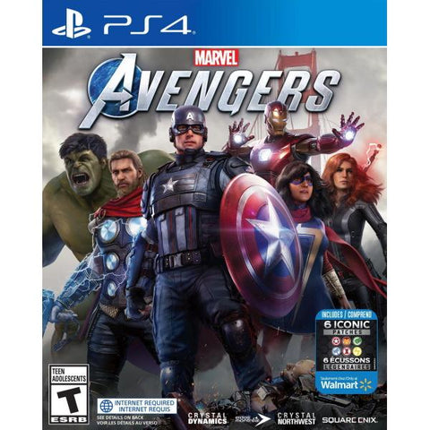 Marvel's Avengers - Walmart Exclusive [PlayStation 4]