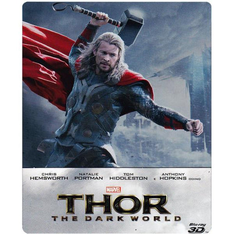 Marvel's Thor: The Dark World - Limited Edition SteelBook [3D + 2D Blu-ray + Digital HD]