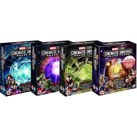 Marvel Studios Cinematic Universe - Phase 1-3 Complete Collection - Collector's Edition [Blu-Ray Box Set]