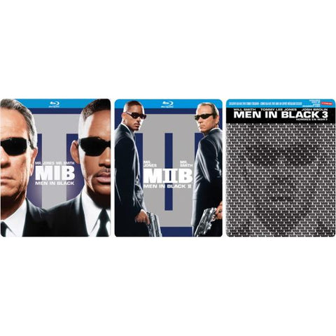 Men In Black 1-3 - Limited Edition SteelBook Collection [Blu-Ray]