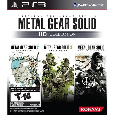 Metal Gear Solid HD Collection [PlayStation 3]