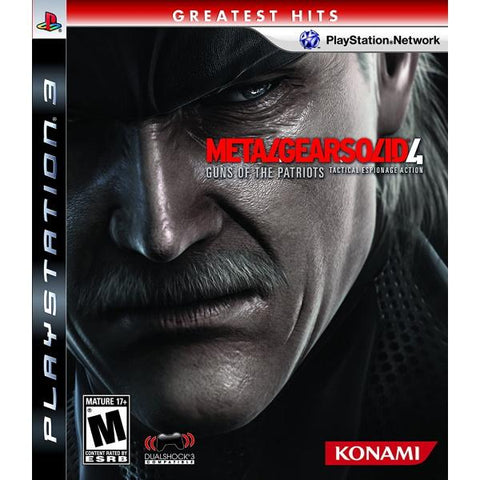 Metal Gear Solid 4: Guns of the Patriots [PlayStation 3]