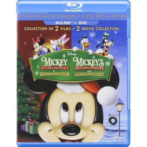 Disney's Mickey's Once Upon a Christmas & Twice Upon a Christmas [Blu-Ray 2-Movie Collection]
