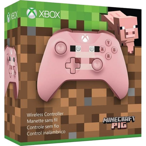 Xbox One Wireless Controller - Minecraft Pig [Xbox One Accessory]