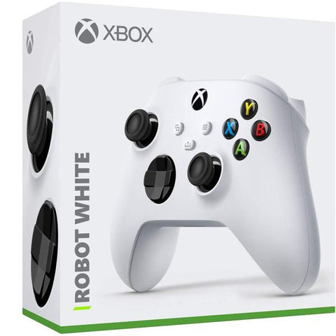 Xbox Wireless Controller - Robot White [Xbox Series X/S + Xbox One Accessory]