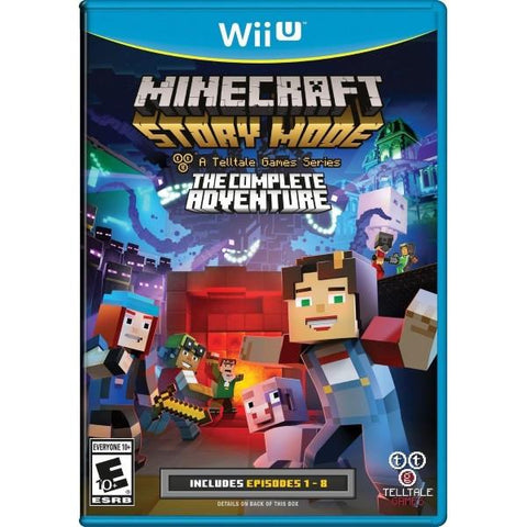 Minecraft: Story Mode - The Complete Adventure [Nintendo Wii U]