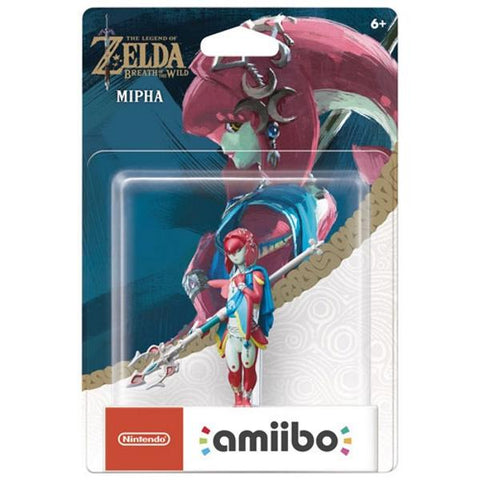 Mipha Amiibo - The Legend of Zelda: Breath of the Wild Series [Nintendo Accessory]