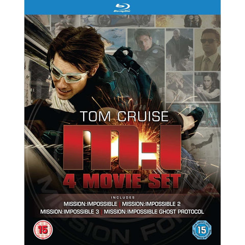 Mission: Impossible - 4 Movie Set [Blu-ray Box Set]