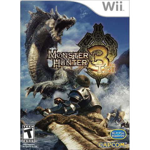 Monster Hunter Tri [Nintendo Wii]