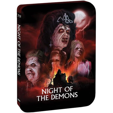 Night Of The Demons - Limited Edition SteelBook [Blu-Ray]