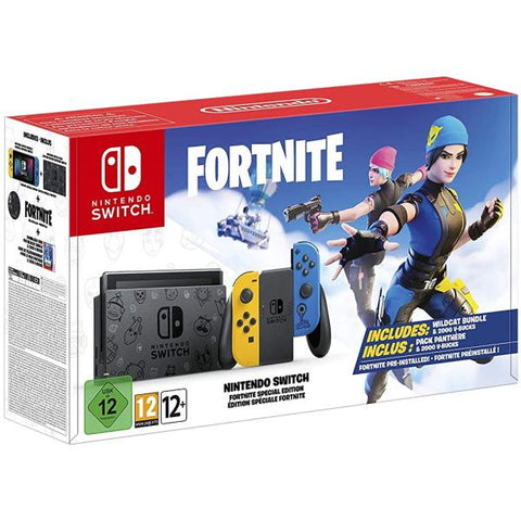 Nintendo Switch Console - Fortnite Wildcat Bundle Edition [Nintendo Switch System]
