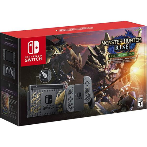 Nintendo Switch Console - Monster Hunter Rise Deluxe Edition [Nintendo Switch System]