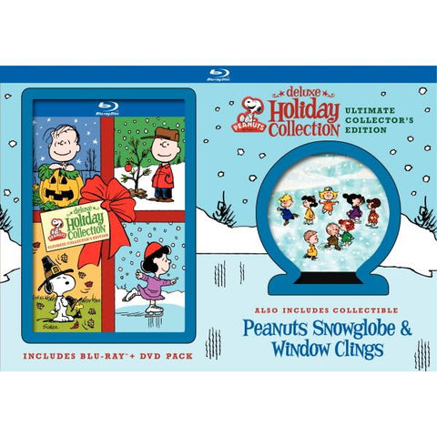 Peanuts Deluxe Holiday Collection: Ultimate Collector's Edition [Blu-Ray + DVD Box Set]