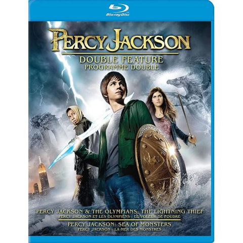 Percy Jackson Double Feature [Blu-Ray Box Set]